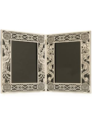 Shanghai Tang Dragon and Phoenix double photo frame