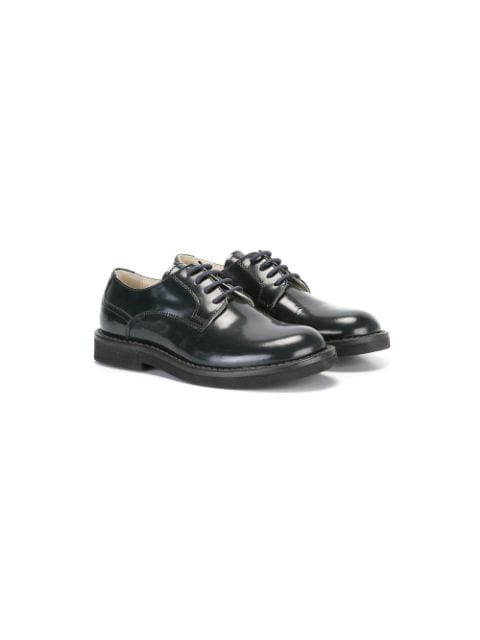 Montelpare Tradition polished lace-up brogues