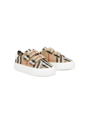 Burberry Kids Vintage check sneakers