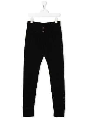 Givenchy Kids TEEN logo print track trousers