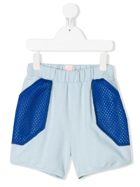 Wauw Capow Inside Out mesh panel shorts
