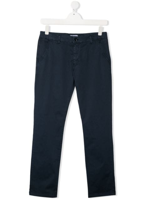 Paolo Pecora Kids TEEN slim fit chino trousers