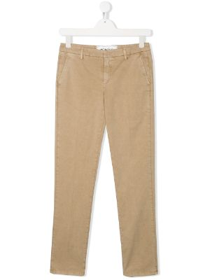 Dondup Kids TEEN mid-rise chino trousers