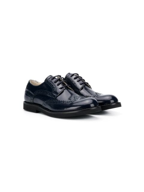 Montelpare Tradition low-heel lace-up brogues