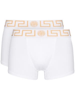 Versace pack of two Greca logo boxers