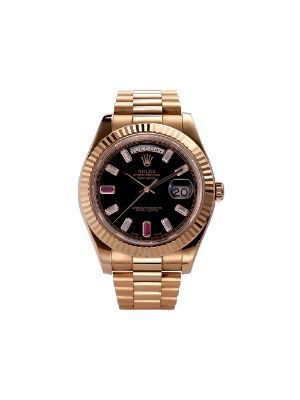 777 2010 pre-owned Day-Date Ruby 41mm