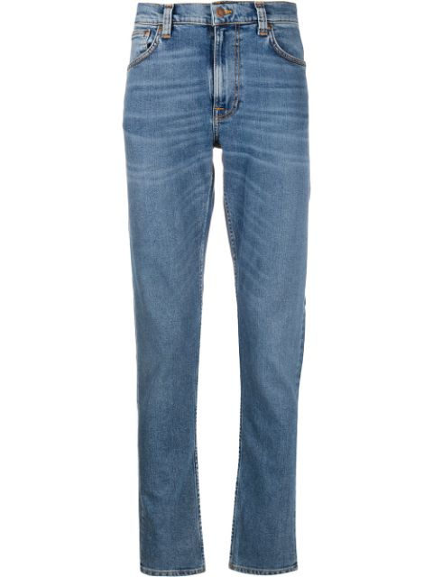 Nudie Jeans Co mid rise straight jeans