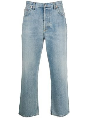 Valentino cropped ankle grazer jeans