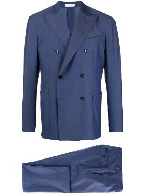 Boglioli double-breasted two-piece K-Suit