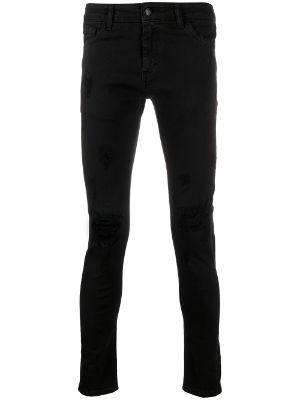 Family First distressed skinny jeans