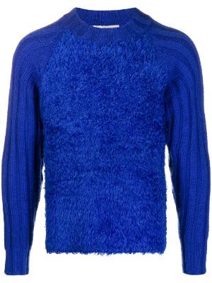 Issey Miyake Pre-Owned textured crew neck jumper