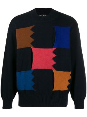 Issey Miyake Pre-Owned 2000s abstract knit jumper