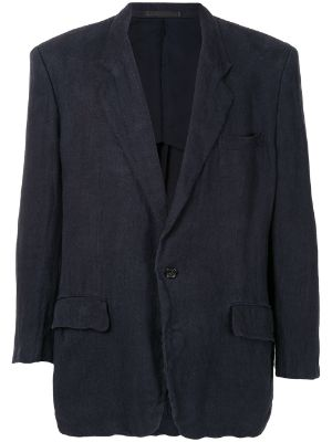 Comme Des Garçons Pre-Owned relaxed-fit blazer jacket