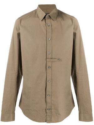 Gucci Pre-Owned 2000s classic slim-fit shirt