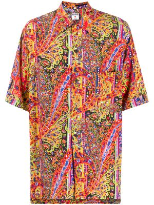Moschino Pre-Owned 2000s paisley print shirt