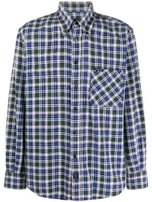 Valentino Pre-Owned 1990s checked button-down shirt