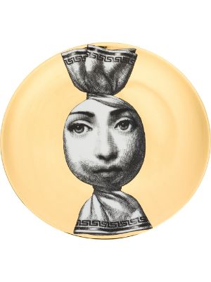 Fornasetti Sweet Wrapper Face print plate