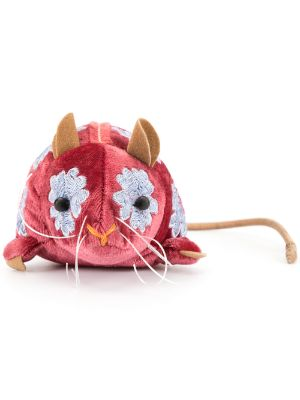 Anke Drechsel embroidered Mouse toy