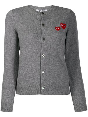 Comme Des Garçons Play embroidered cardigan