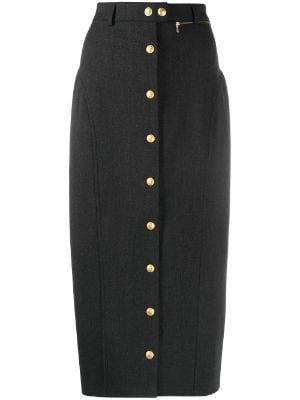 Gucci Pre-Owned 1990s high-waisted straight skirt