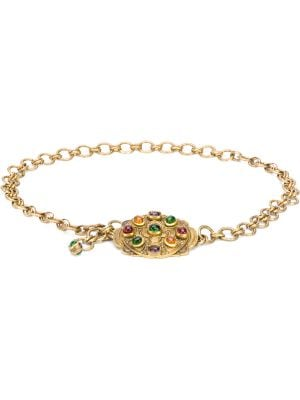 Chanel Pre-Owned 1984 gripoix glass necklace