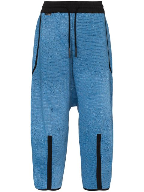 Byborre dropped crotch oversized trousers