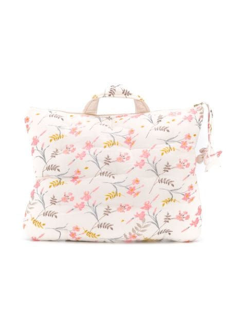 Bonpoint floral-print tote
