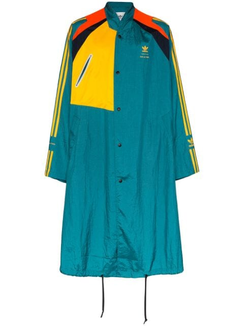 adidas x Bed J.W.Ford panelled trench coat