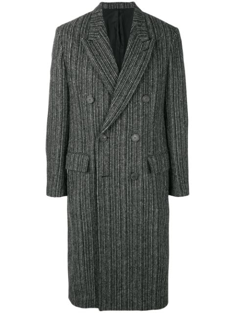 AMI Double Breasted Long Coat