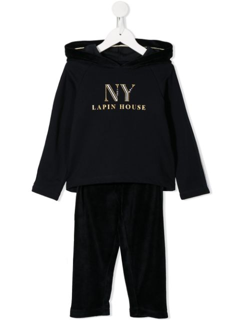 Lapin House TEEN hoodie and trousers set