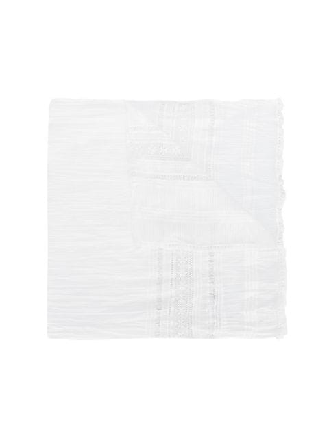 American Outfitters Kids TEEN embroidered scarf