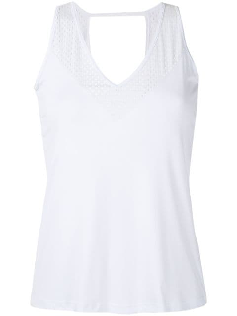 Track & Field Thermodry cut out tank top