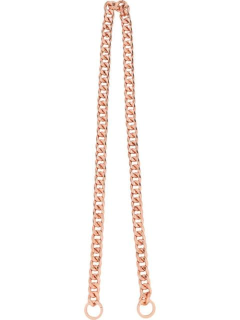 0711 plated bag chain strap