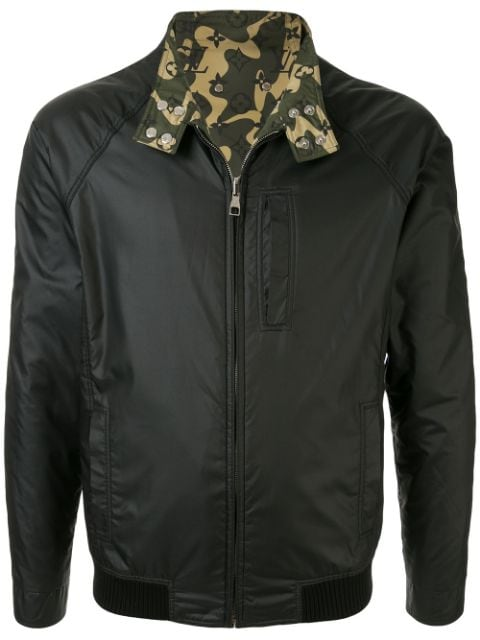 Louis Vuitton pre-owned reversible bomber jacket
