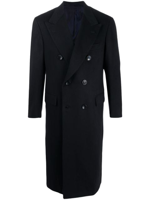 Kiton double breasted cashmere coat