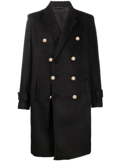 Family First double breasted structured coat