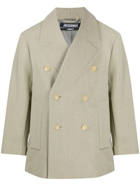 Jacquemus double-breasted coat