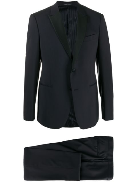 Emporio Armani single breasted dinner suit