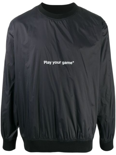 MSGM سويت شيرت بطبعة Play Your Game