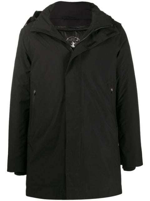 Save The Duck logo patch coat