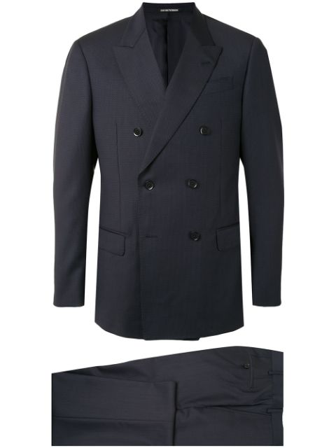 Emporio Armani two-piece double-breasted suit