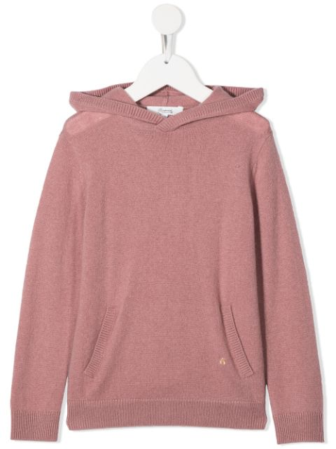 Bonpoint pouch-pocket hooded jumper