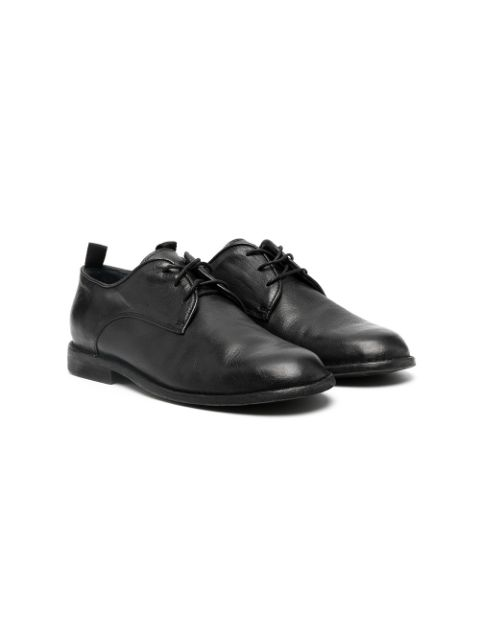 Gallucci Kids lace-up leather shoes