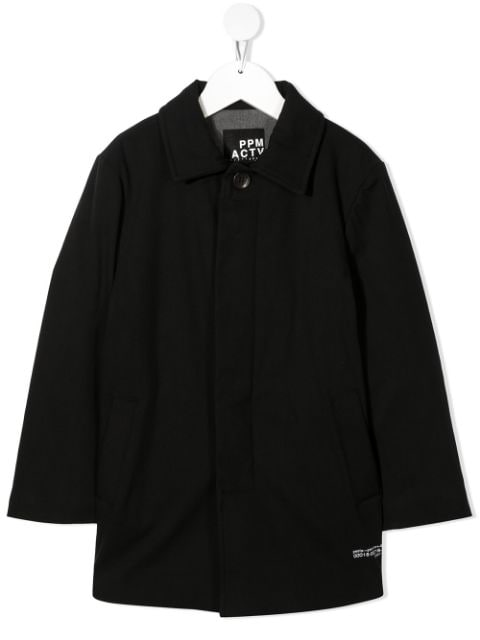Paolo Pecora Kids concealed-front coat