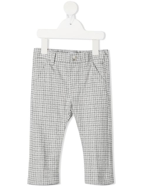 Il Gufo houndstooth-pattern trousers