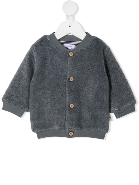 Absorba button up bomber jacket