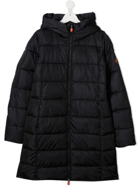 Save The Duck Kids TEEN padded hooded coat