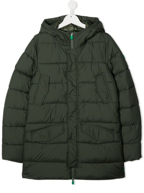 Save The Duck Kids TEEN hooded padded coat