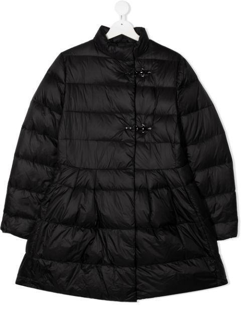 Fay Kids TEEN quilted A-line coat