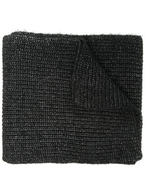 Michael Kors chunky knitted scarf
